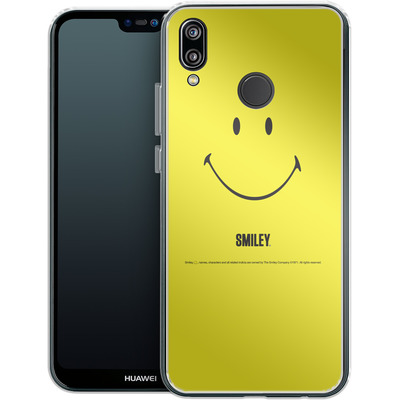 Huawei P20 Lite Silikon Handyhuelle - Smiley All Over von Smiley®