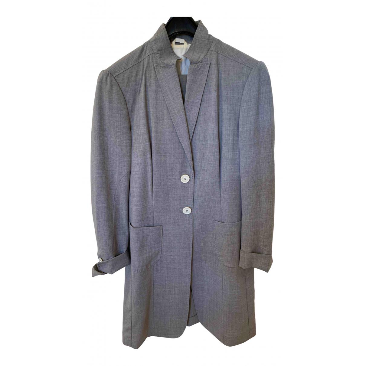Brunello Cucinelli \N Grey Wool jacket for Women 42 IT
