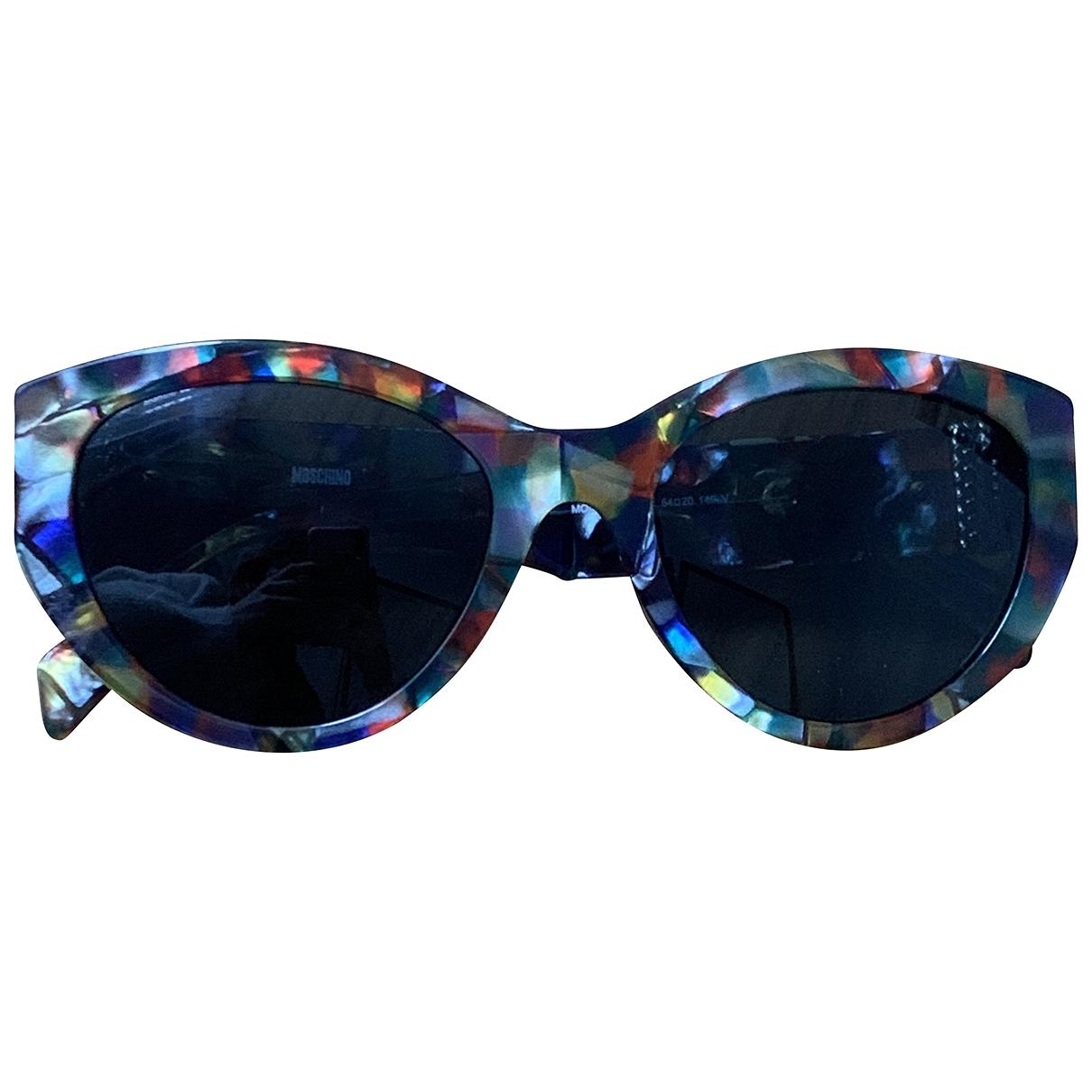 Moschino \N Sonnenbrillen in  Bunt Kunststoff