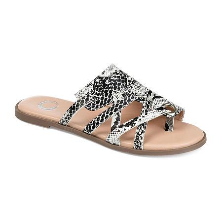 Journee Collection Womens Hasten Slip-On Shoe, 9 Medium, White