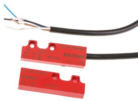 Telemecanique Sensors Preventa XCS-DMC Magnetic Safety Switch, Plastic, 24 V dc
