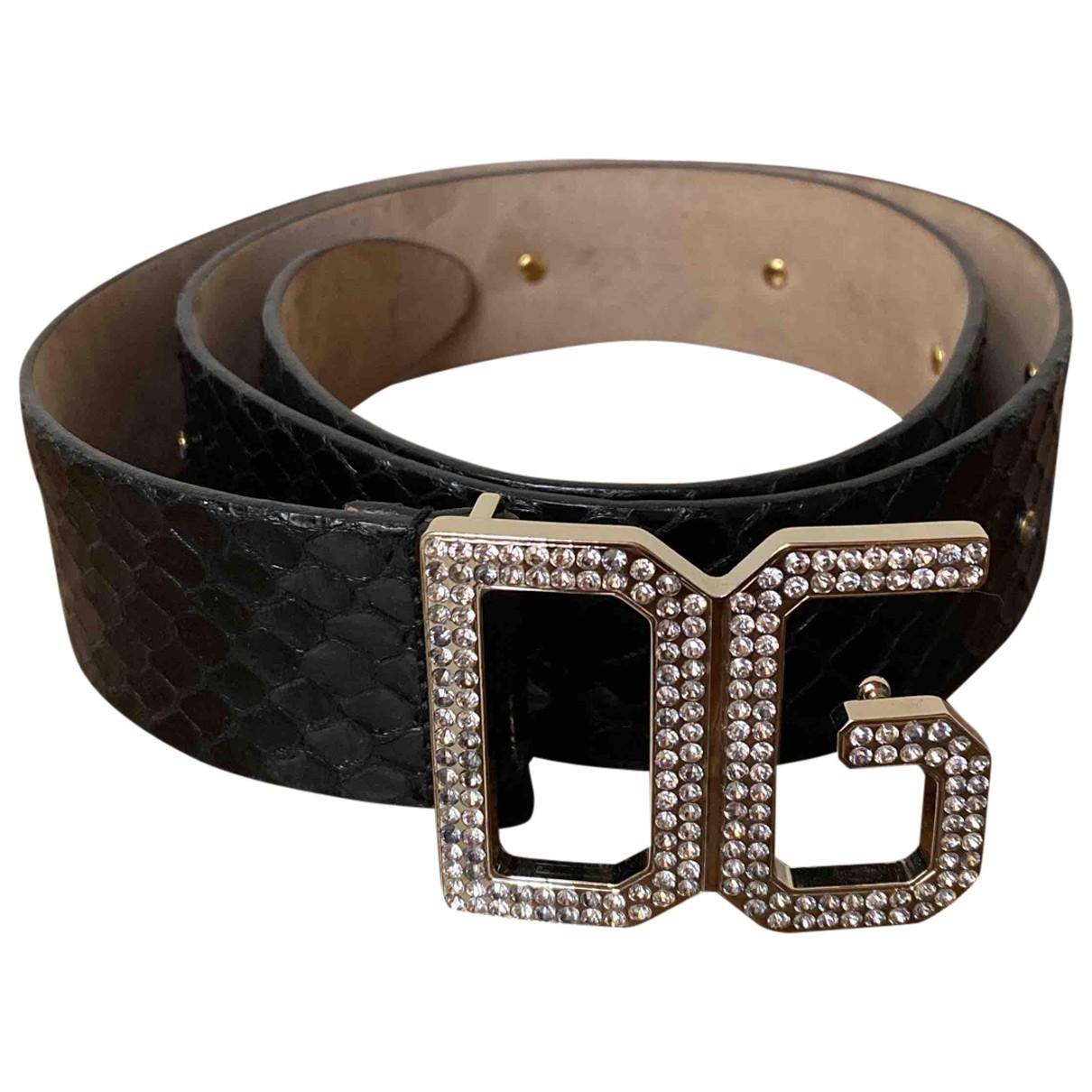 Cinturon de Cueros exoticos Dolce & Gabbana