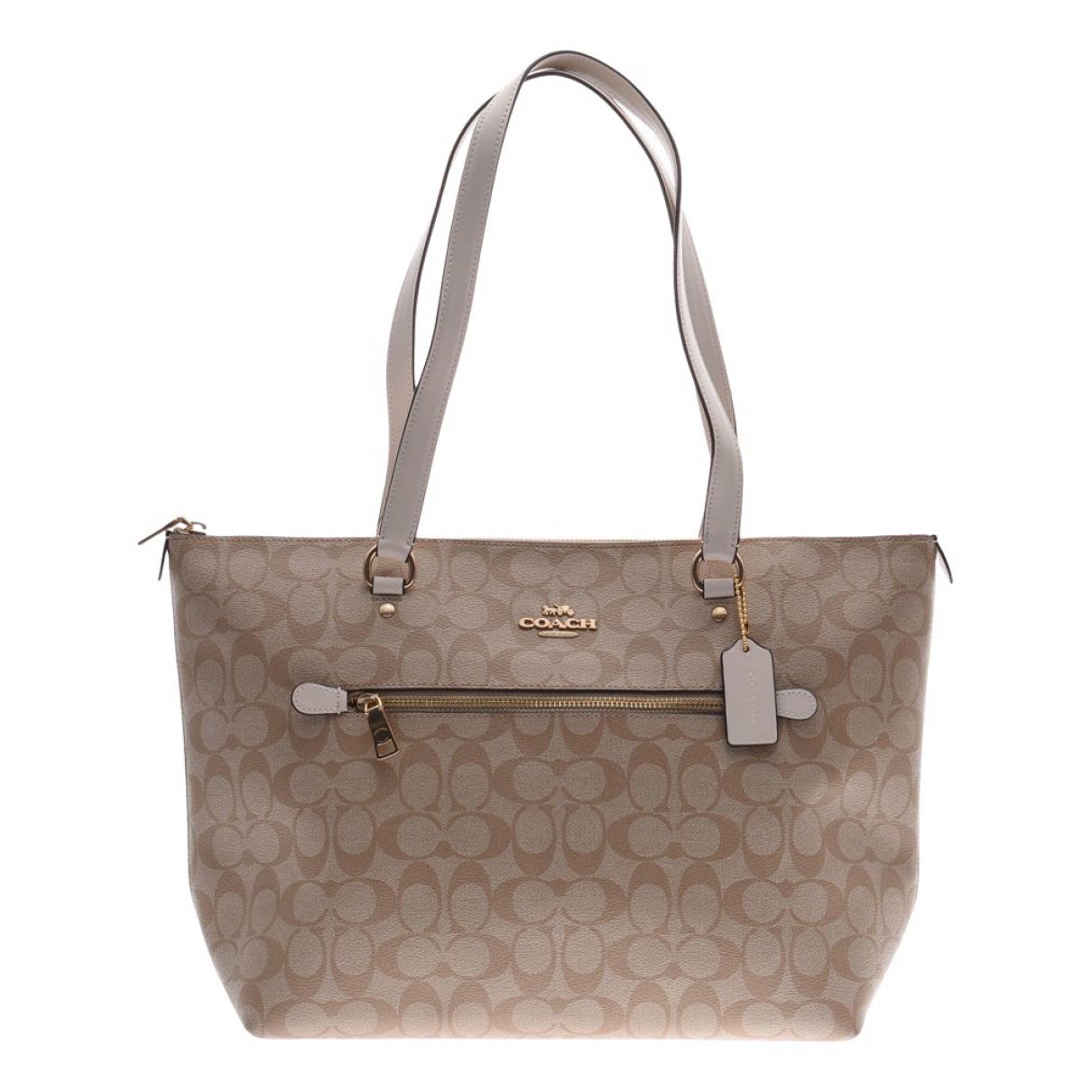 Coach N Beige Cloth handbag for Women N