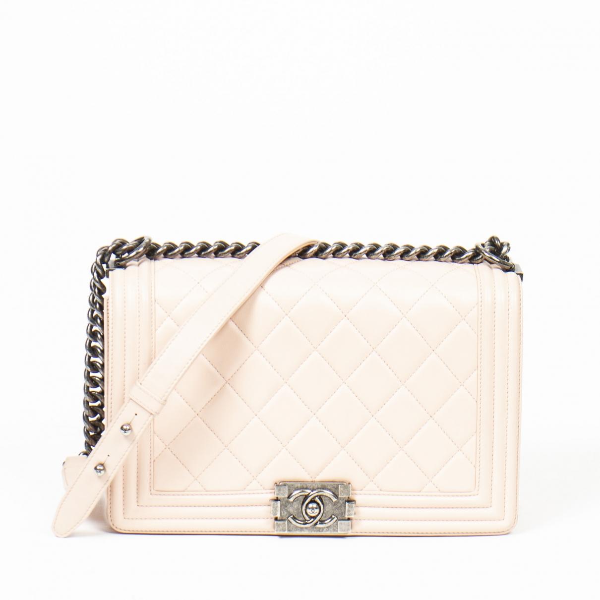 Chanel Boy Leather handbag for Women \N