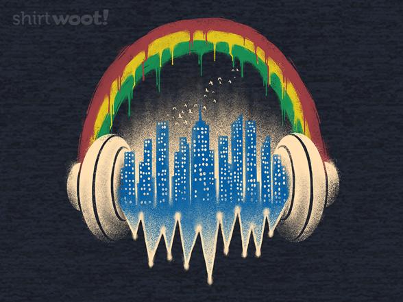 City Of Music T Shirt