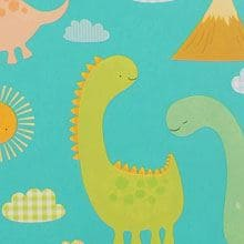Babysaurus Gift Wrap - 24 X 833' - Gift Wrapping Paper by Paper Mart
