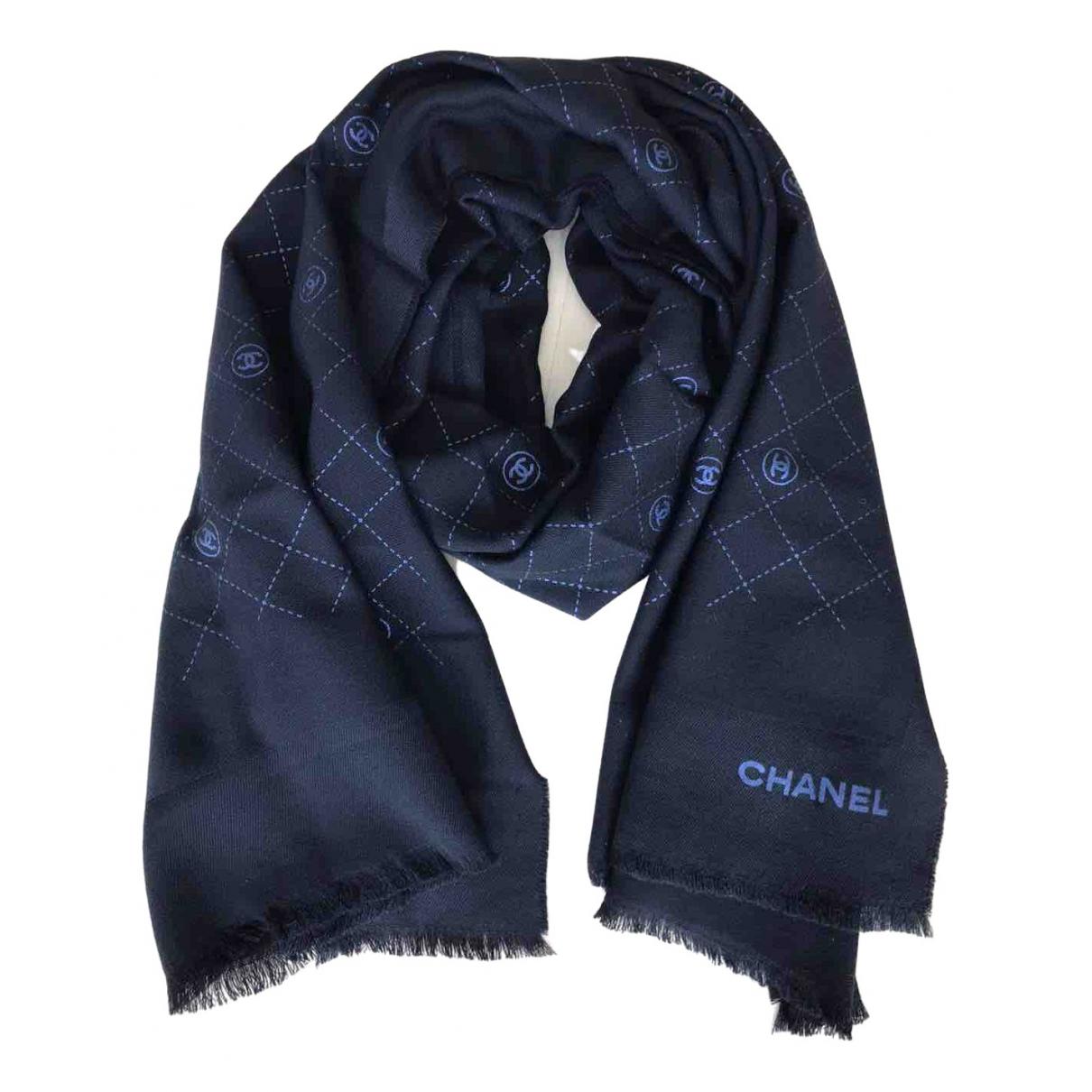 Chanel \N Black Wool scarf for Women \N