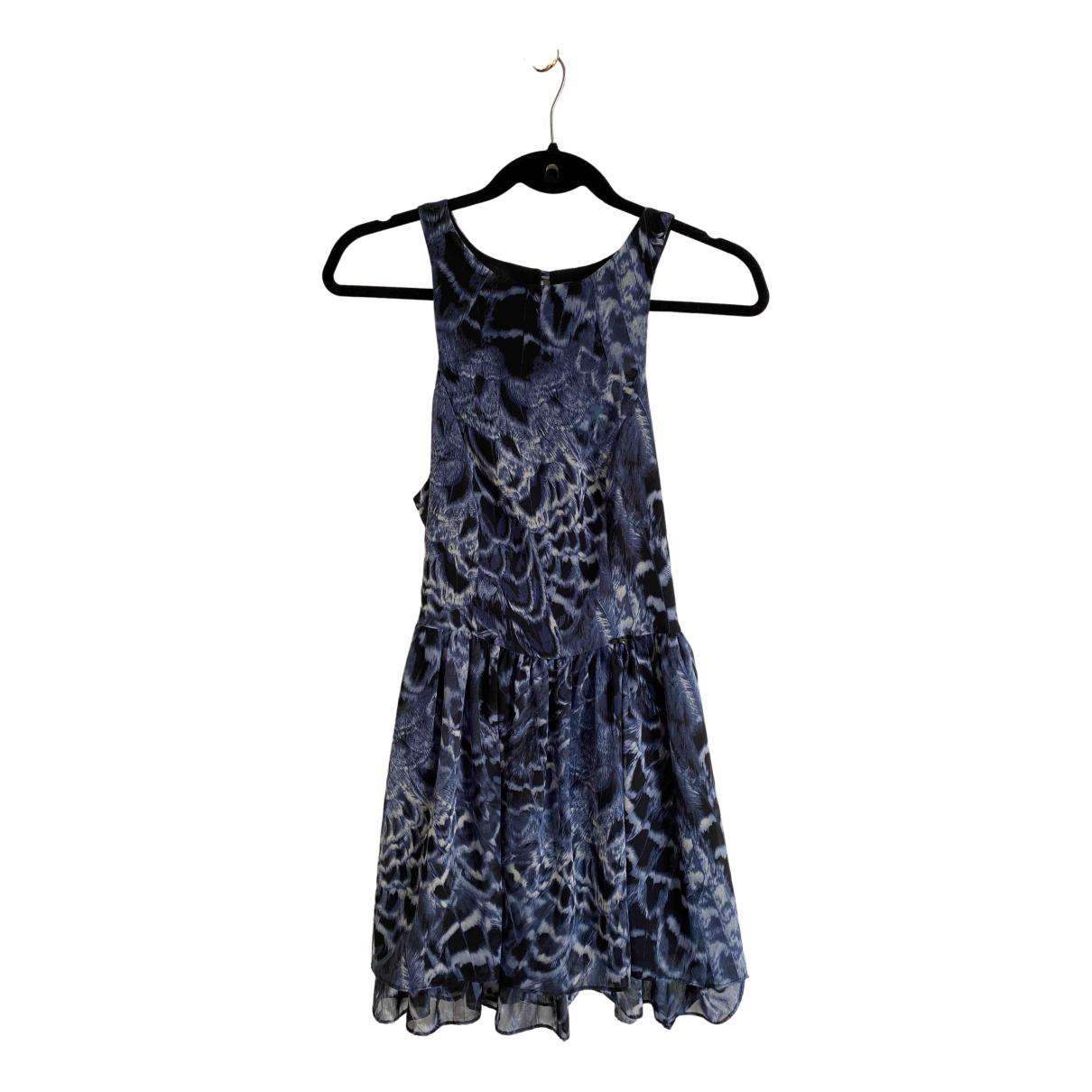 Guess \N Kleid in  Blau Polyester