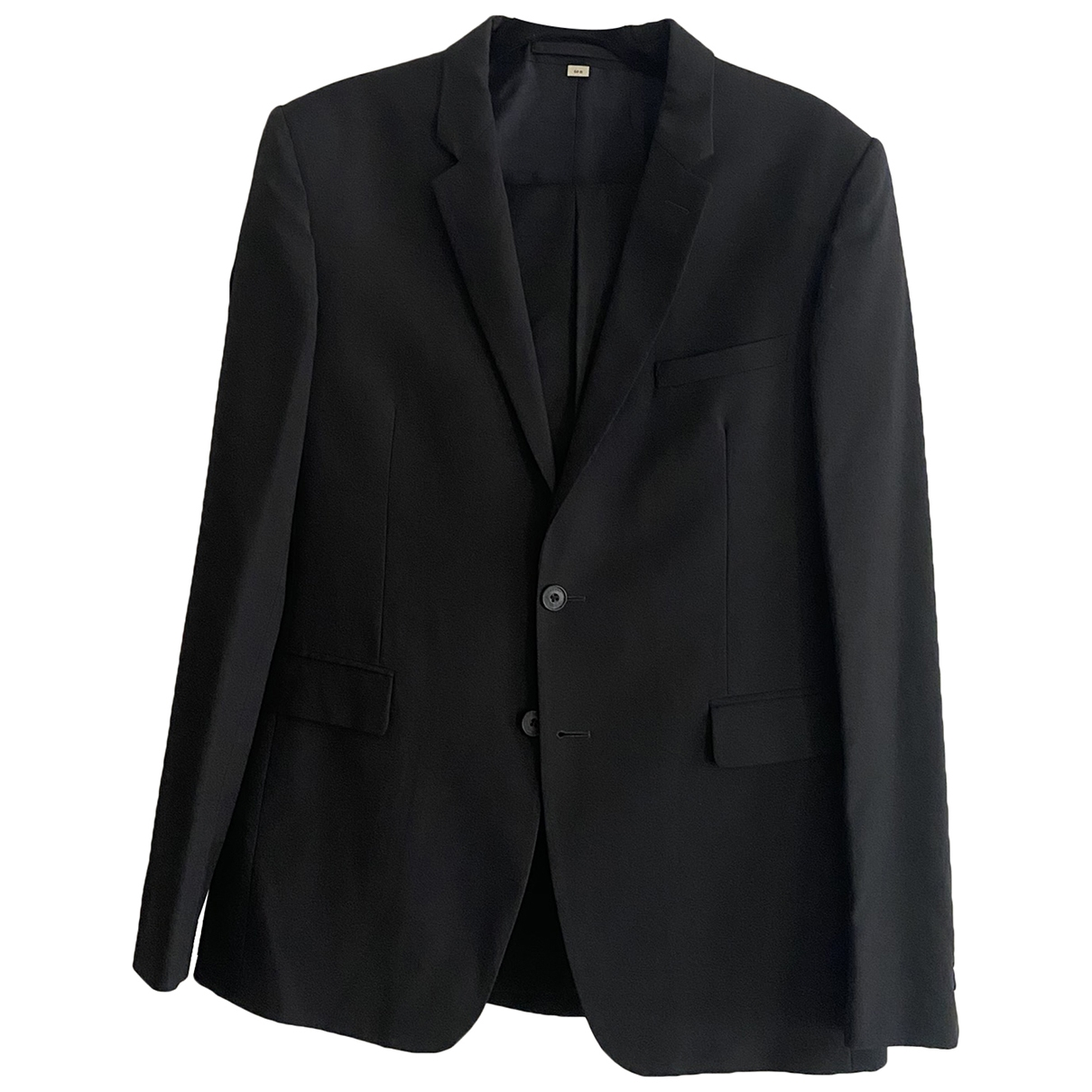 Burberry \N Black Wool Suits for Men 50 IT