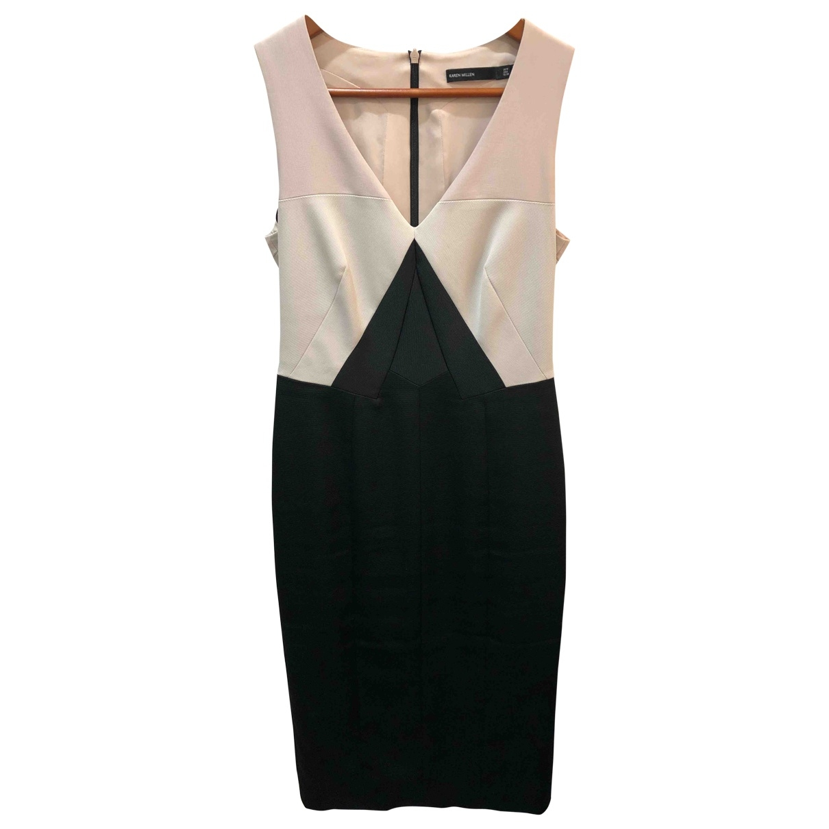 Karen Millen \N Cotton dress for Women 10 UK