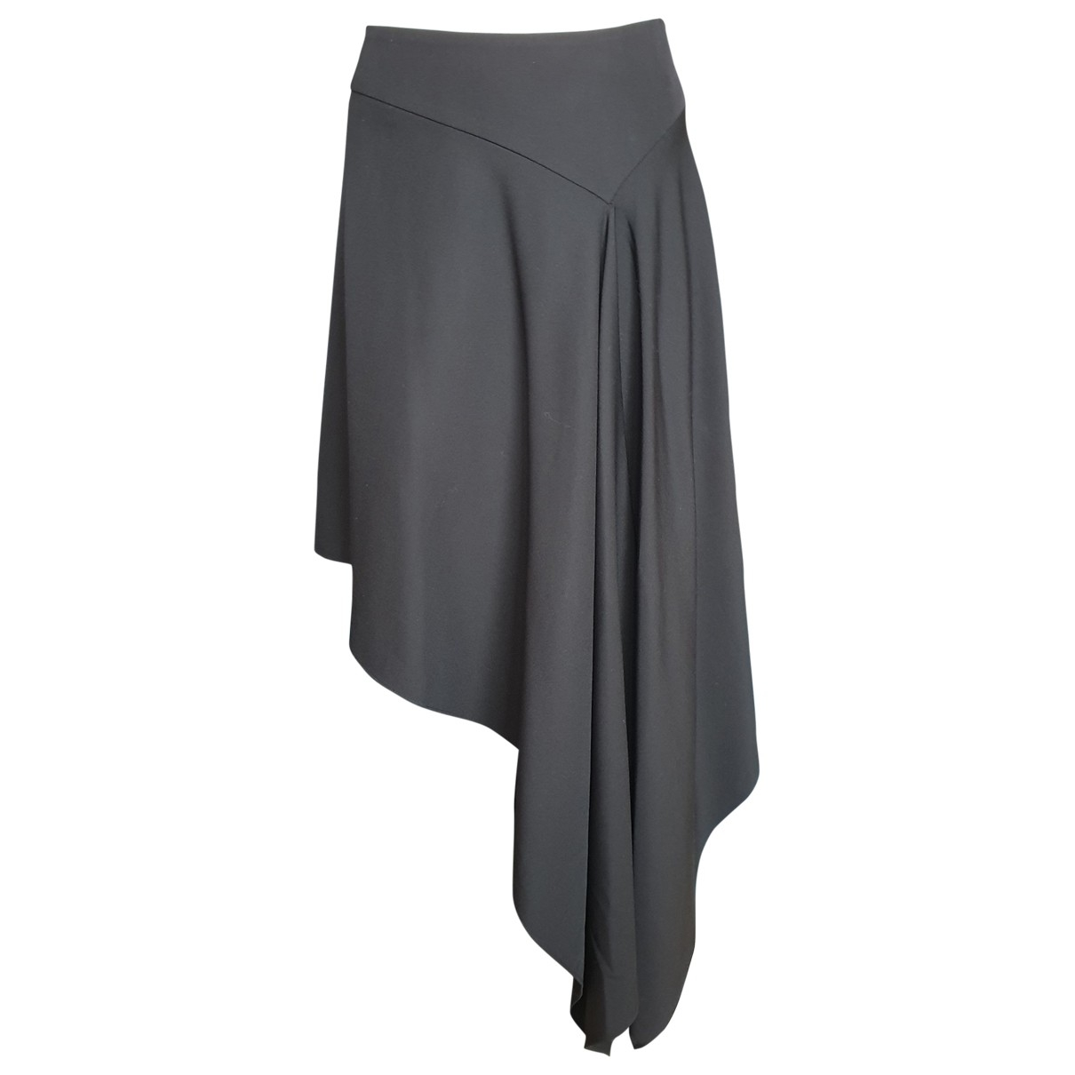 Alexander Mcqueen - Jupe   pour femme en laine - noir