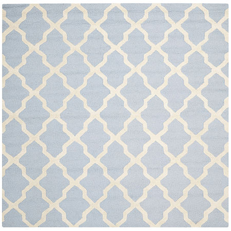Safavieh Gale Wool Square Rug, One Size , Blue