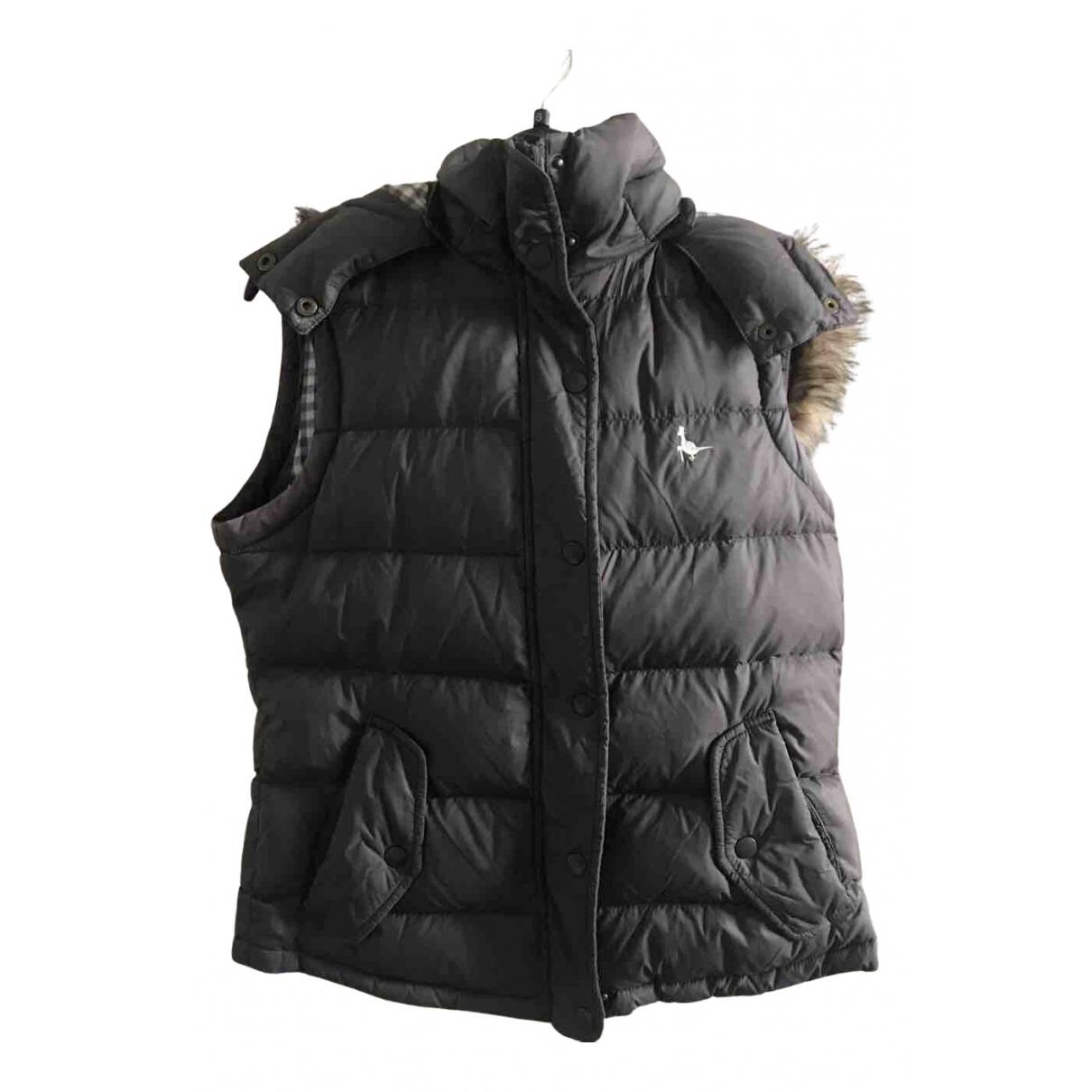 Jack Wills - Veste   pour femme en coton - anthracite