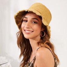 Raw Trim Bucket Hat