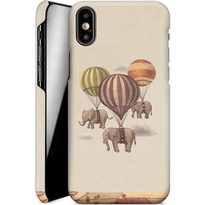 Apple iPhone XS Smartphone Huelle - Flight Of The Elephants von Terry Fan