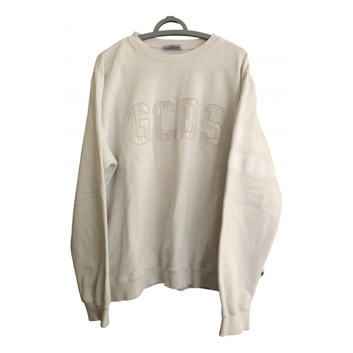Gcds \N White Cotton Knitwear & Sweatshirts for Men L International