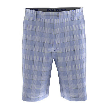 PGA TOUR Mens Moisture Wicking Golf Short, 34 , Blue