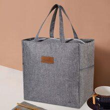 1 pieza bolsa de almuerzo minimalista