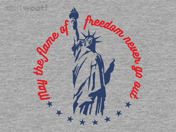 Freedom's Flame T Shirt