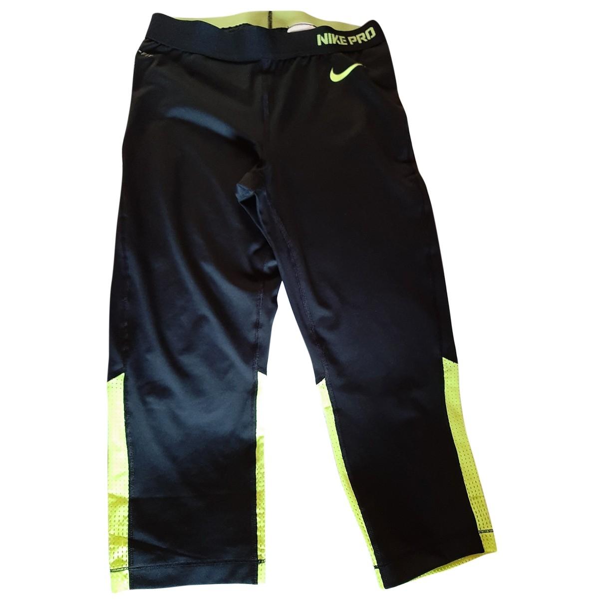 Nike \N Hose in  Schwarz Polyester