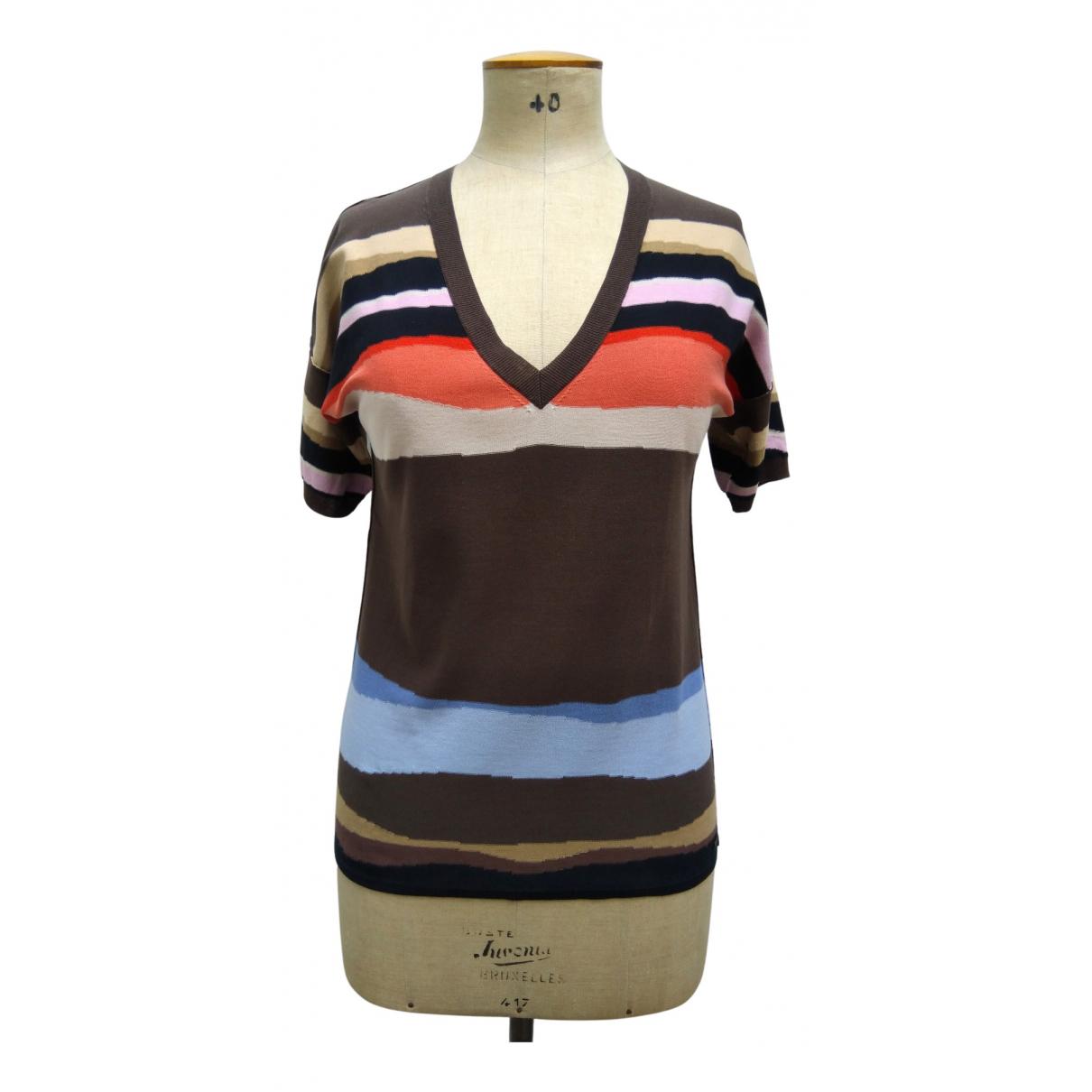 Sonia Rykiel - Pull   pour femme en coton - multicolore