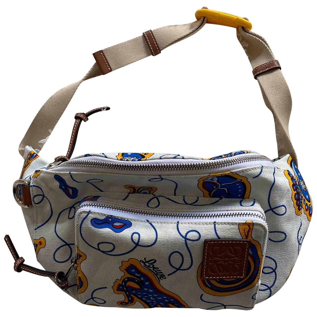 Loewe \N Multicolour Cloth handbag for Women \N