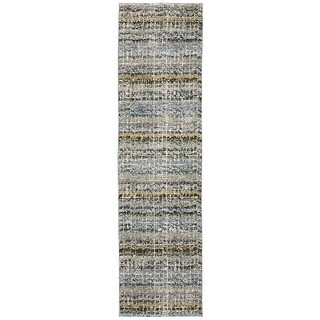 Athena Gridwork Plaid Area Rug (2'3