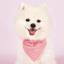 1 Stueck Hund Laetzchen mit Karo Muster