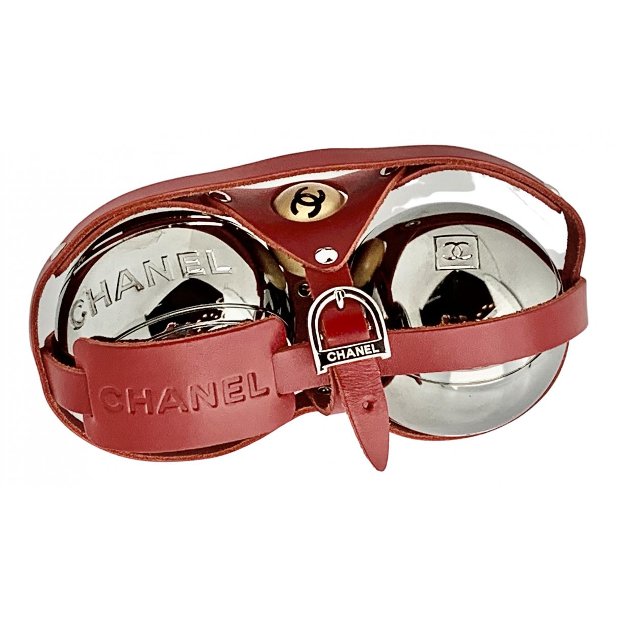 Chanel - Ballons   pour lifestyle en cuir - rouge
