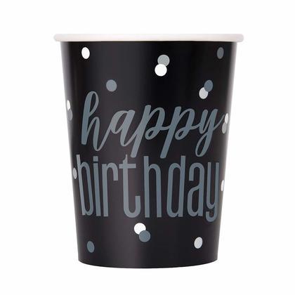 Birthday Glitz Black & Silver