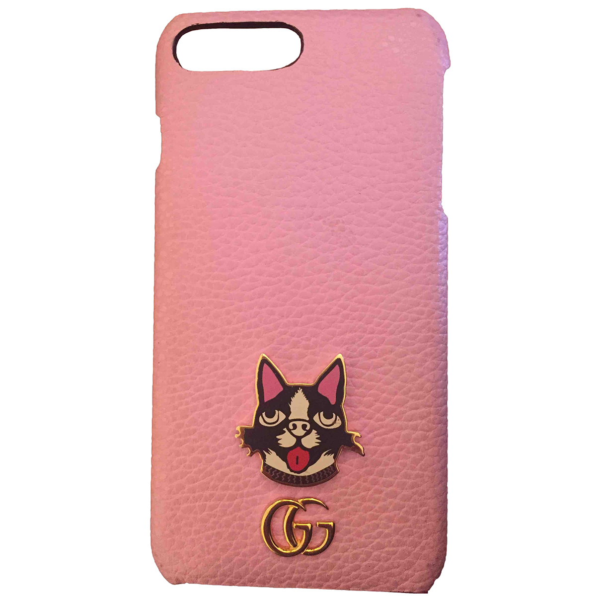 Funda iphone de Cuero Gucci