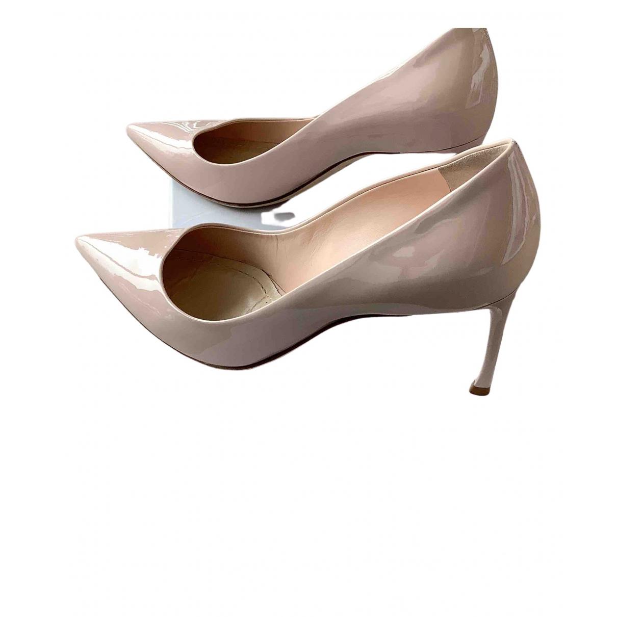 Dior - Escarpins Dior D-Stiletto pour femme en cuir verni - rose