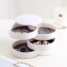 1pc Rotating Jewelry Storage Box