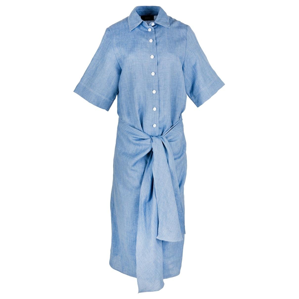 Joseph \N Kleid in  Blau Leinen