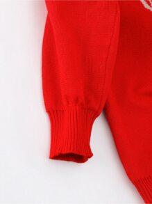 Toddler Boys Reindeer Pattern Knit Sweater