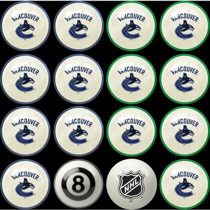 50-4108 Vancouver Canucks Home & Away Billiard Ball
