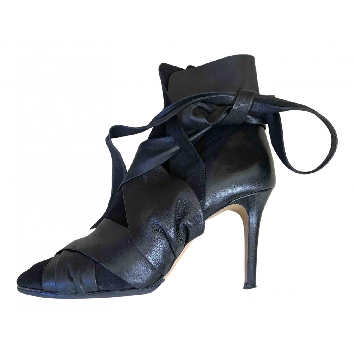 Isabel Marant \N Stiefeletten in  Schwarz Leder