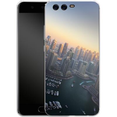 Huawei P10 Silikon Handyhuelle - Dubai Skyline von Omid Scheybani