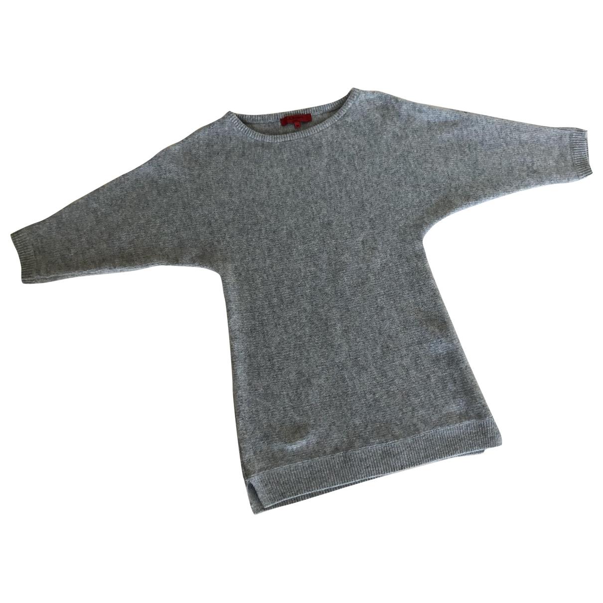 Lk Bennett - Pull   pour femme en laine - gris