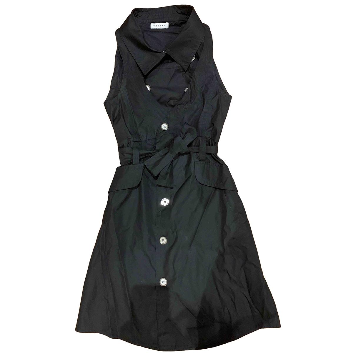 Celine - Robe   pour femme en coton - marine