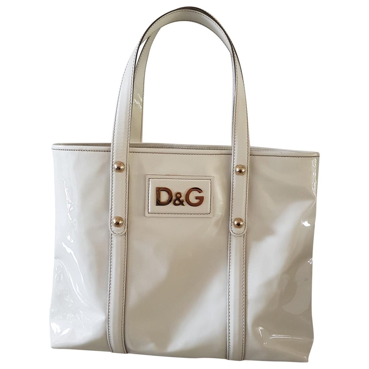 D&g \N Patent leather handbag for Women \N