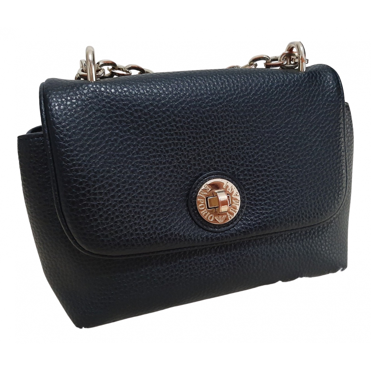 Emporio Armani N Black Leather handbag for Women N