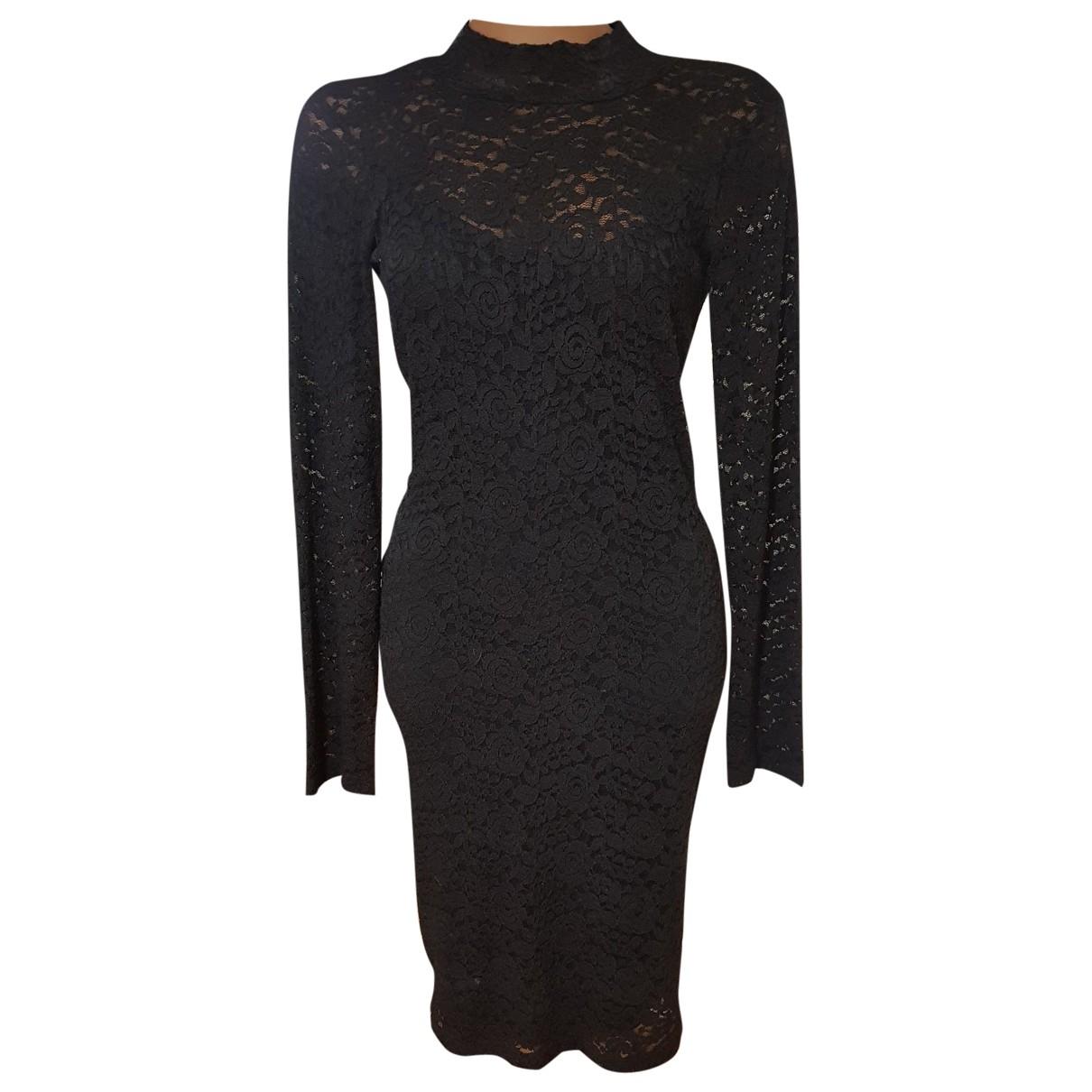 Guess - Robe   pour femme en dentelle - noir