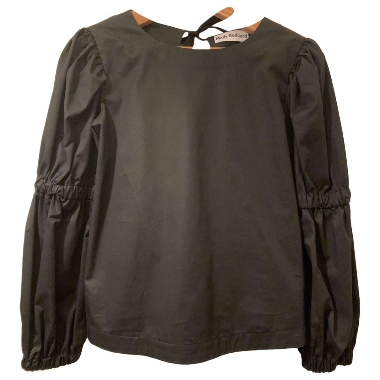 Molly Goddard - Top   pour femme en coton - noir