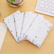 2pcs Random Pattern Notebook