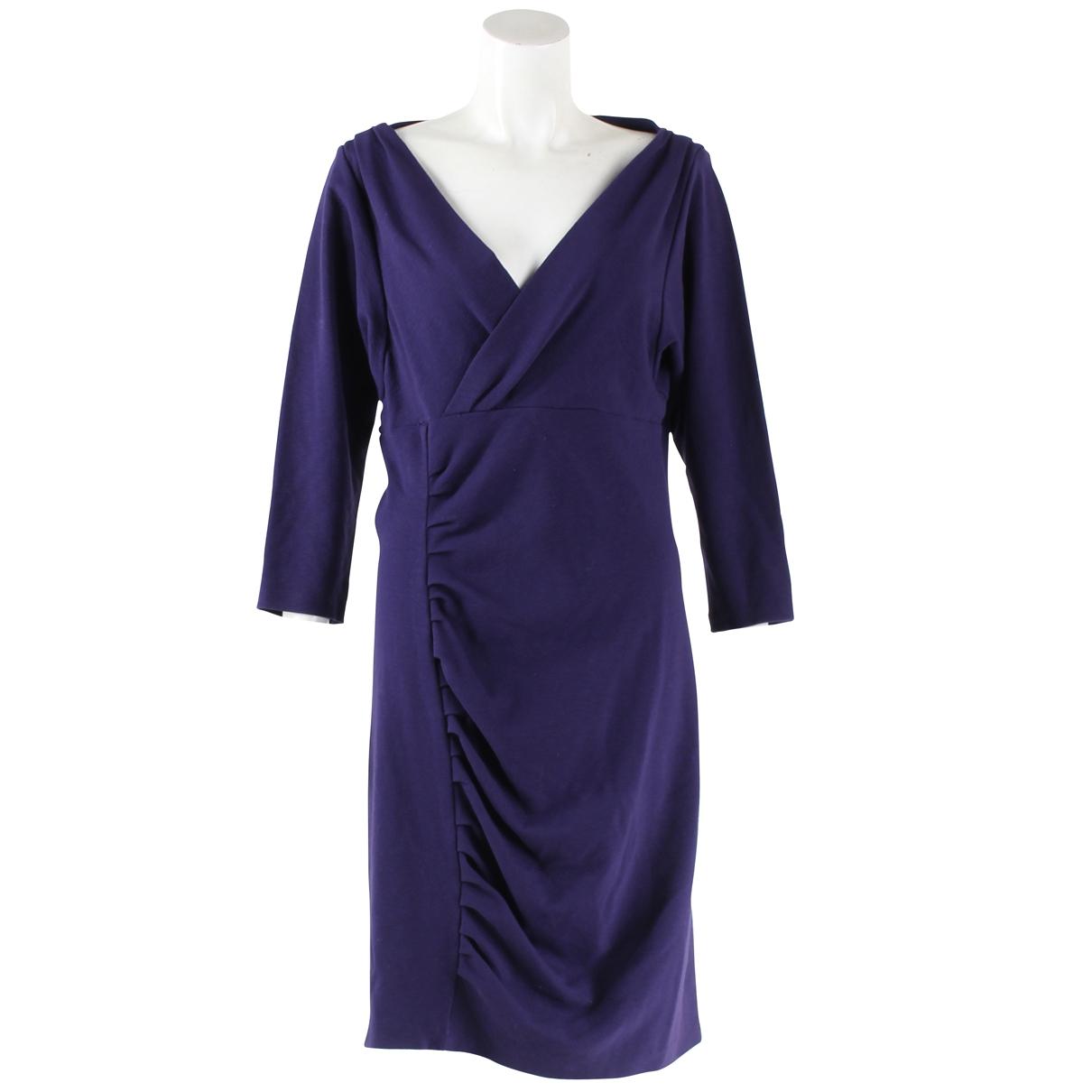 Diane Von Furstenberg - Robe   pour femme - violet