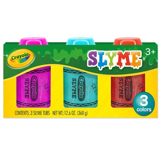 12 Packs: 3 Ct. (36 Total) Crayola® Slyme | Michaels®