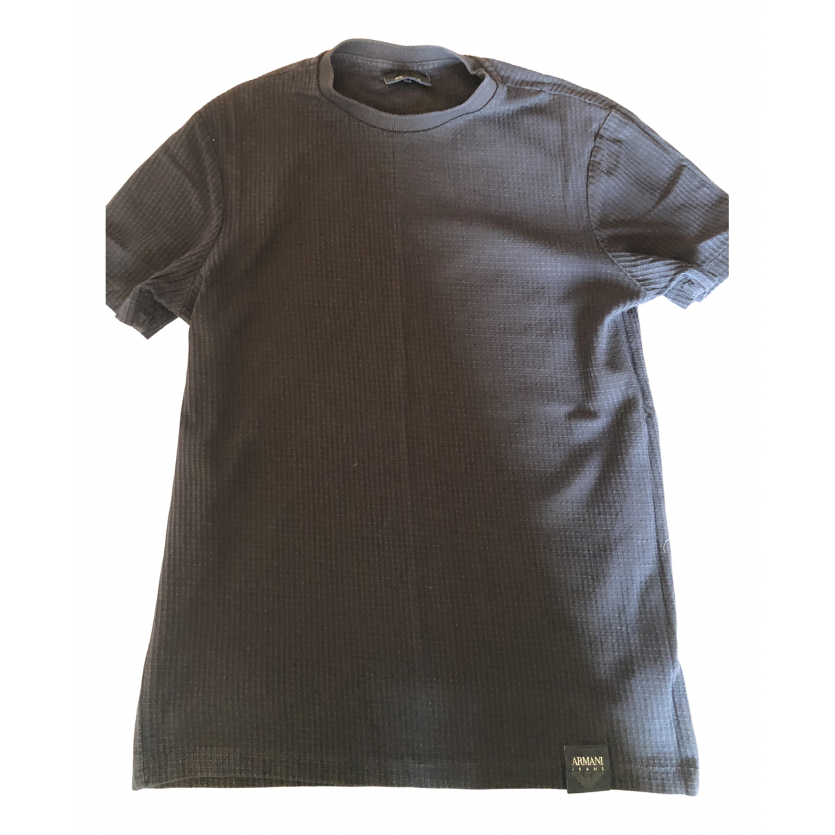 Armani Jeans \N Blue Cotton T-shirts for Men S International