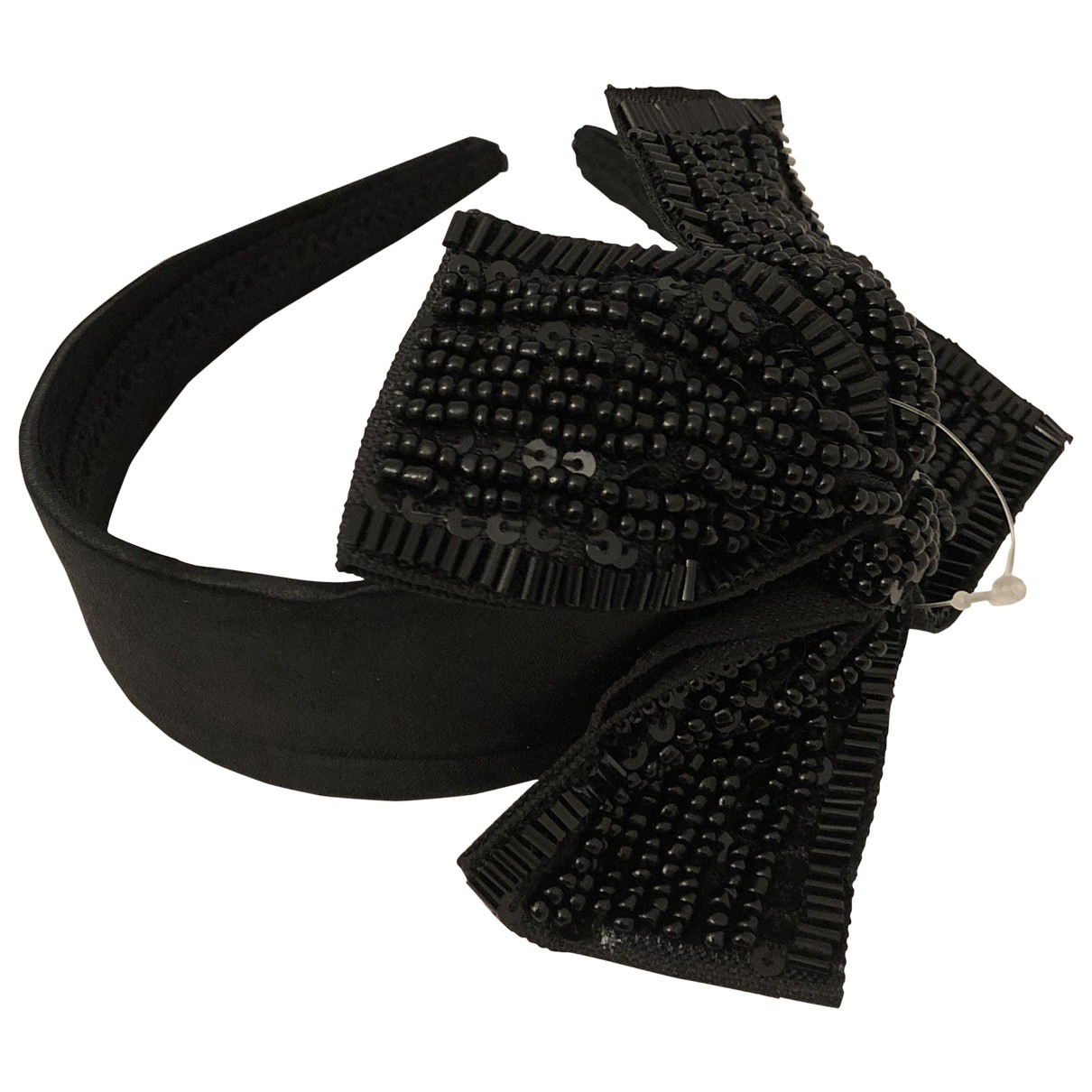 Non Signé / Unsigned Motifs Noeuds Black Cloth Hair accessories for Women \N