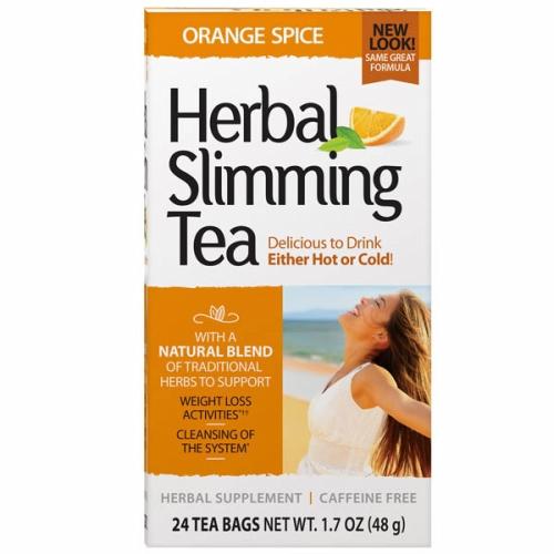 Herbal Slimming Tea Orange Spice 24 Bags by 21st Century